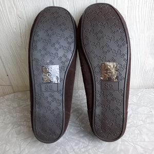 SO Shoes - Worn 1x SO Women's 9 Dark Brown Leather Faux Fur